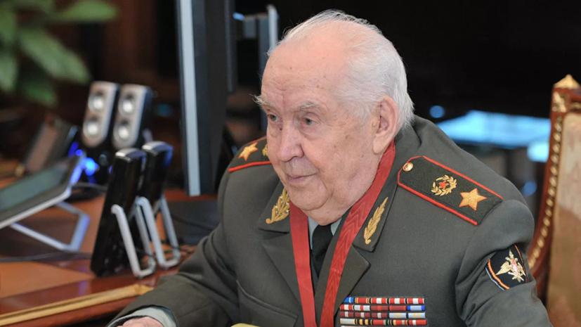 Медведев соболезнует семье президента Академии военных наук Гареева