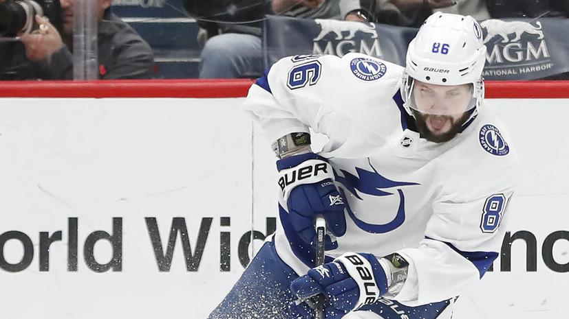 Кучеров и Тарасенко включены в пятёрку лучших правых нападающих десятилетия НХЛ