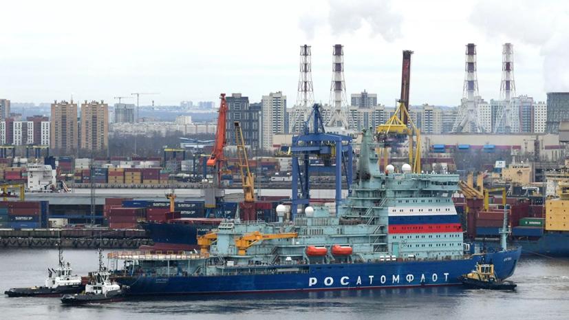 Атомный ледокол «Арктика» прошёл испытания на остойчивость