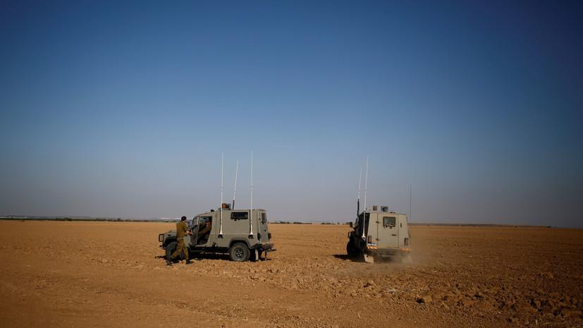 В Израиле заявили о пуске ракеты из сектора Газа