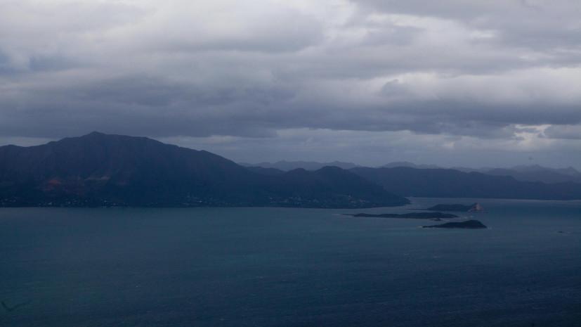 Землетрясение магнитудой 5,6 произошло в Тихом океане