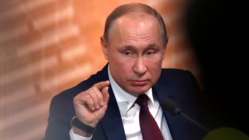 Путин рассказал о нехватке сна