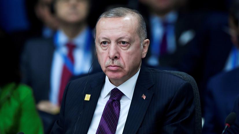Эрдоган утвердил меморандум о военном сотрудничестве Турции и Ливии