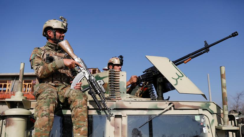 Шесть военных погибли в Афганистане при взрыве