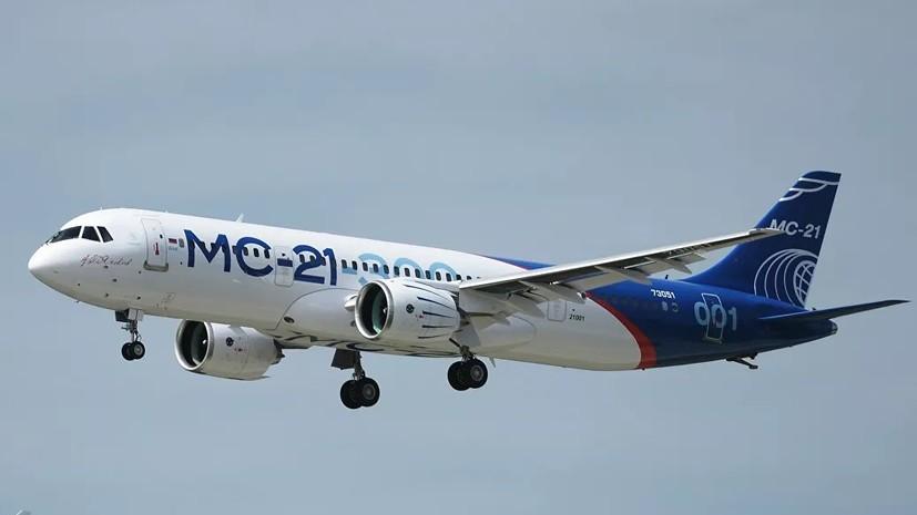 Серийная сборка пассажирских самолётов МС-21 начнётся в 2020 году