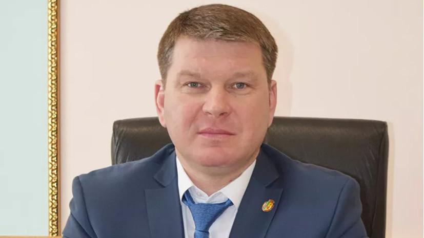 Появилось видео с места покушения на главу района Воронежской области