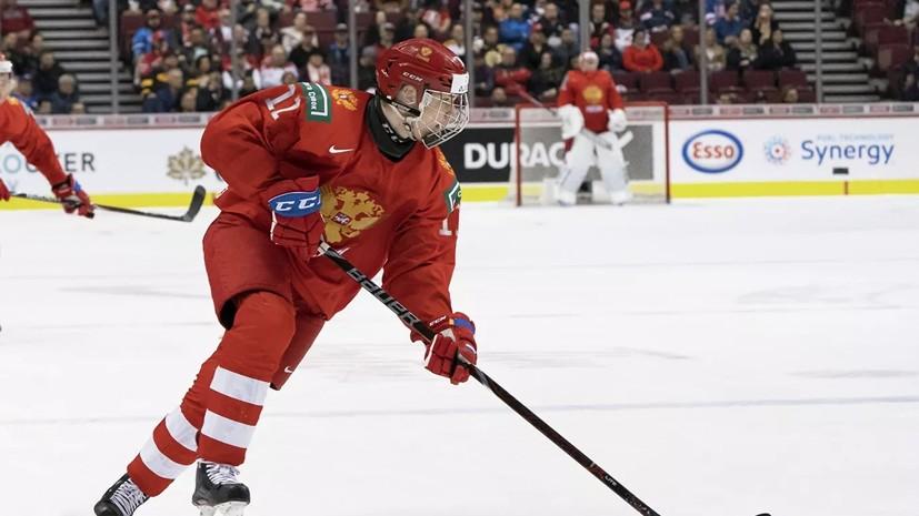Хоккеист Подколзин заявил, что сборная Чехии ничем не удивила в матче на МЧМ