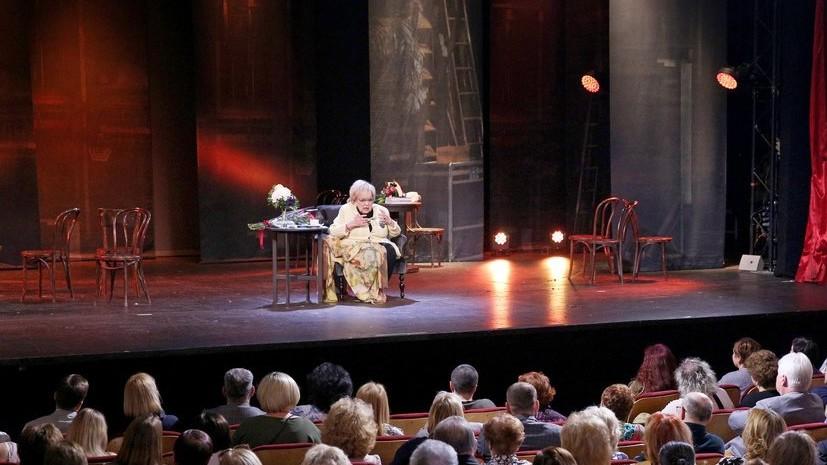 Евгений Стеблов назвал смерть Волчек большой потерей для всего российского театра