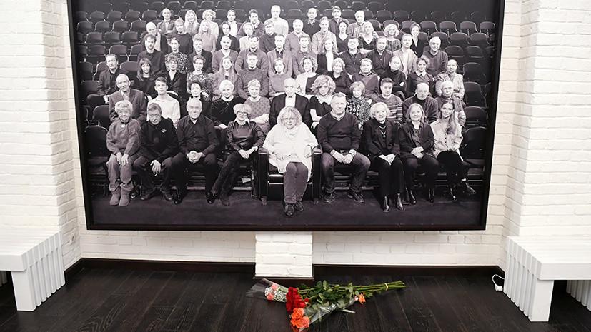 Станислав Дужников назвал смерть Волчек великой потерей