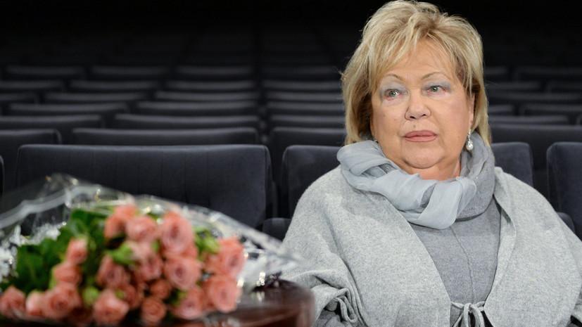 Калягин выразил соболезнования в связи со смертью Волчек
