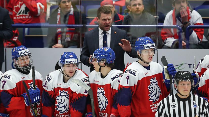 Тренер сборной Чехии не увидел нарушения правил со стороны Соколова в эпизоде с травмой Лауко