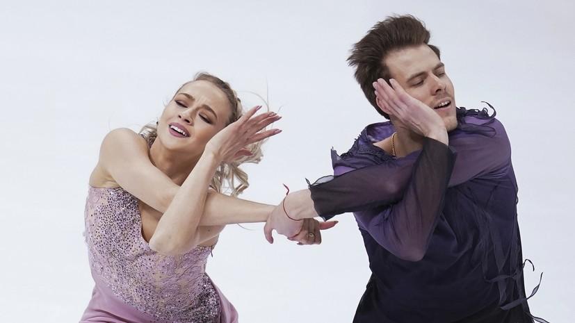 Второе золото подряд: Синицина и Кацалапов стали чемпионами России в танцах на льду
