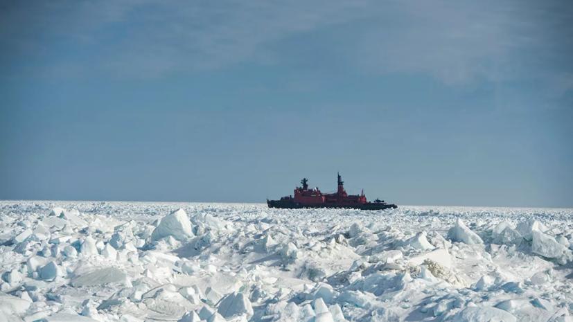 Россия до 2026 года построит пять новых ледоколов для Севморпути