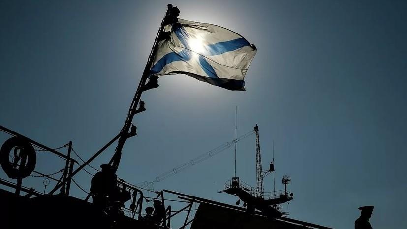 Экипажи кораблей и судов обеспечения ЧФ провели учения