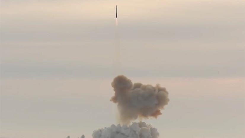 В России на боевое дежурство заступил первый ракетный полк «Авангарда»