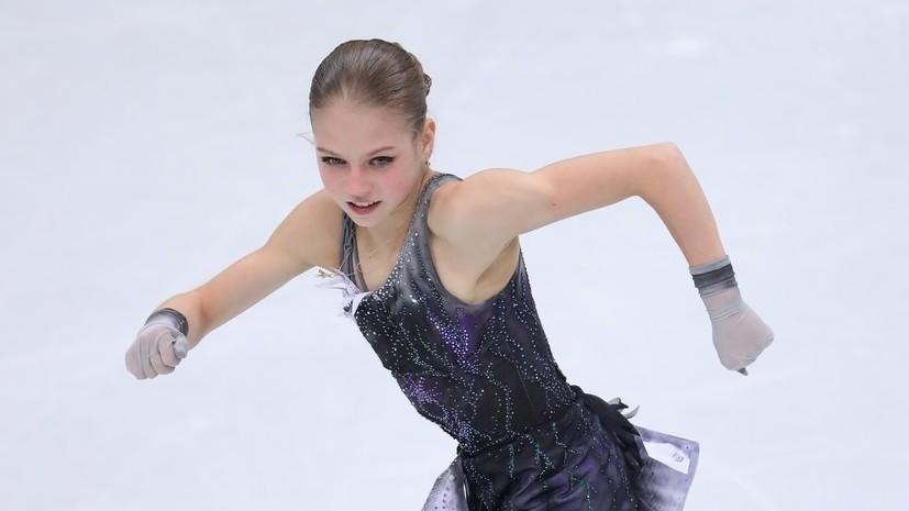Тарасова назвала Трусову «великой спортсменкой»
