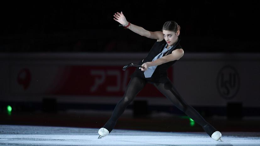 Косторная превзошла мировой рекорд в короткой программе на ЧР