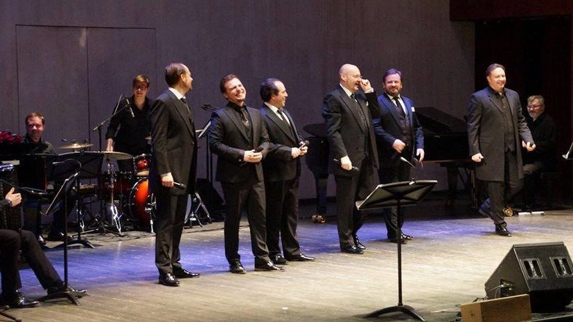 Арт-проект «Тенора XXI века» и оркестр «Русская филармония» выступят 22 января в Москве