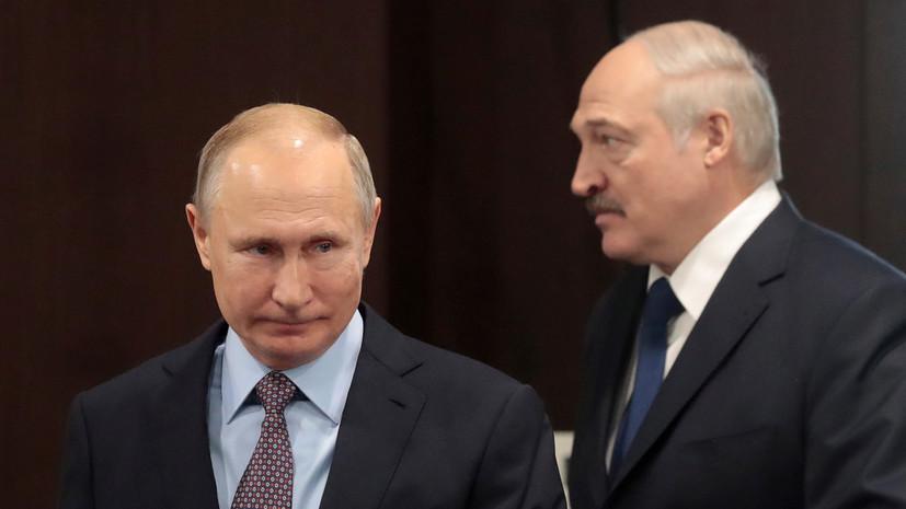 Путин и Лукашенко могут обсудить вопросы газа до конца года