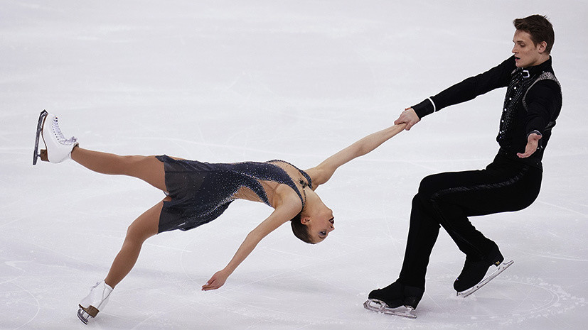 Смена лидеров: фигуристы Бойкова и Козловский одержали победу над Тарасовой и Морозовым в парном катании на ЧР