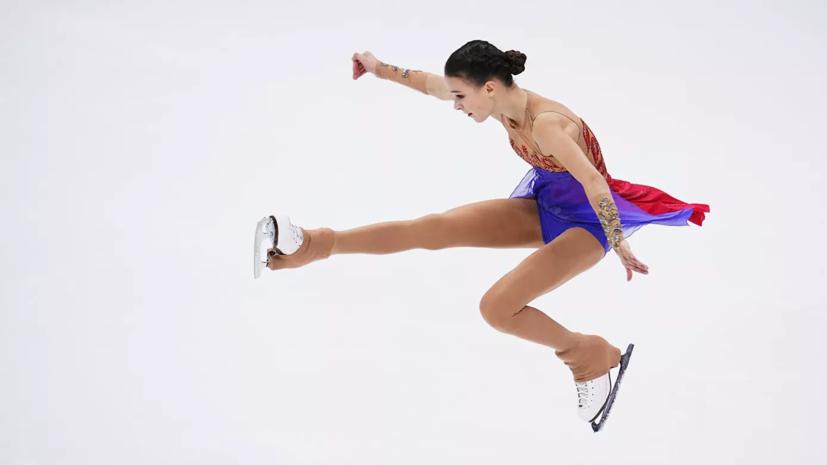Щербакова превзошла мировые рекорды Трусовой и Косторной