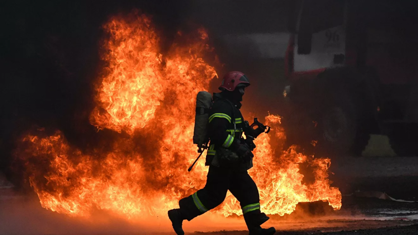В Красноярском крае при пожаре погибли четыре человека