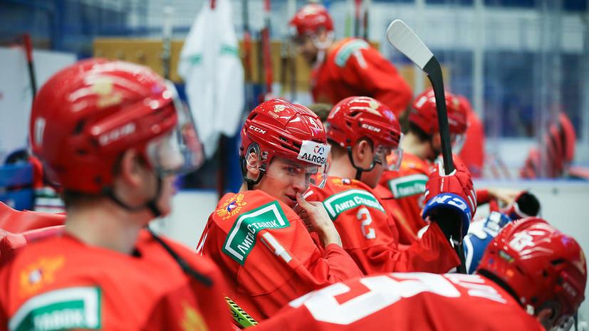 Российские хоккеисты забросили две шайбы за три минуты матча МЧМ с Канадой
