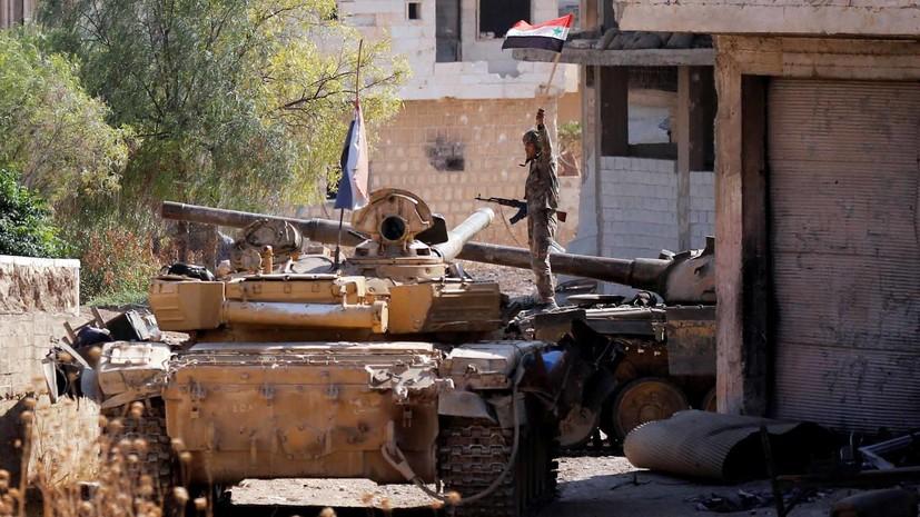 Сирийская армия отбила две атаки боевиков в провинции Идлиб