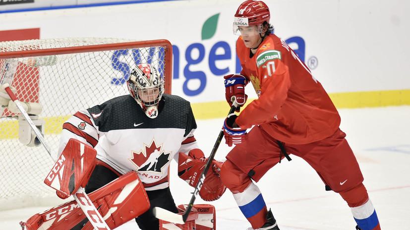 В Канаде принесли извинения ФХР за действия своего игрока после матча МЧМ