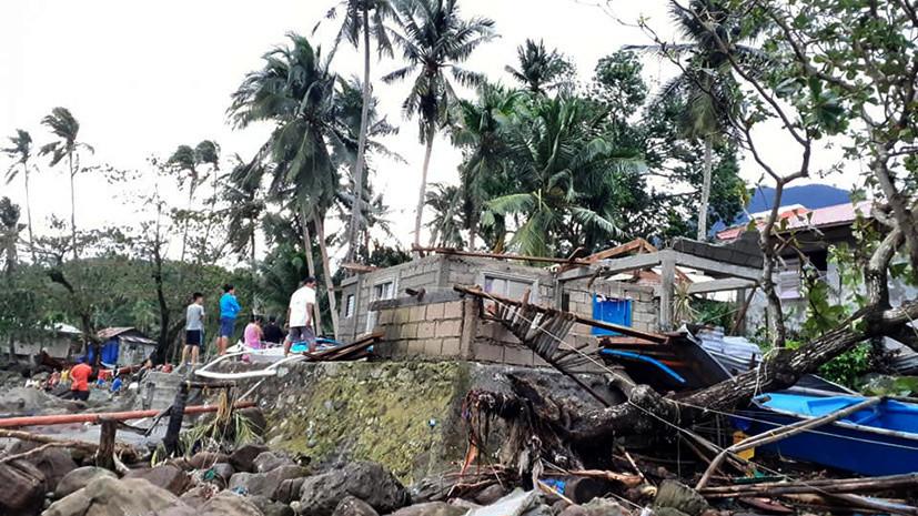 Число жертв тайфуна «Урсула» на Филиппинах возросло до 41
