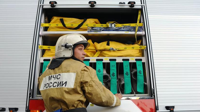 СК возбудил дело после гибели двух детей при пожаре в Иркутской области