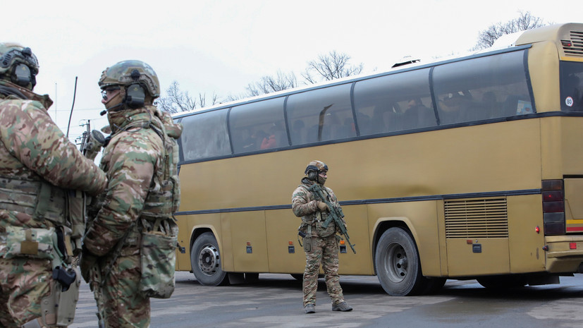 ДНР и Киев завершили процедуру обмена пленными в Донбассе