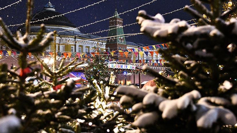 Морозная ночь, снег и оттепель: какой будет погода в Москве на Новый год
