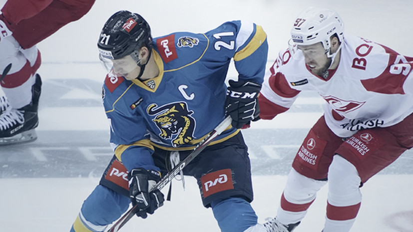 «Сочи» в овертайме обыграл «Спартак» в матче КХЛ