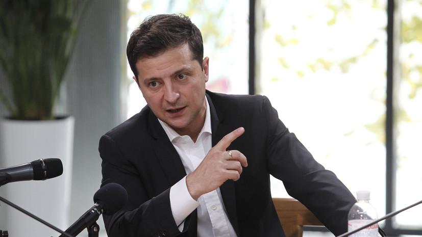 Зеленский прибыл в аэропорт Киева для встречи освобождённых в Донбассе