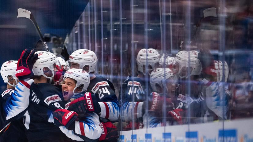 Сборная России по хоккею потерпела пятое поражение подряд от США на МЧМ