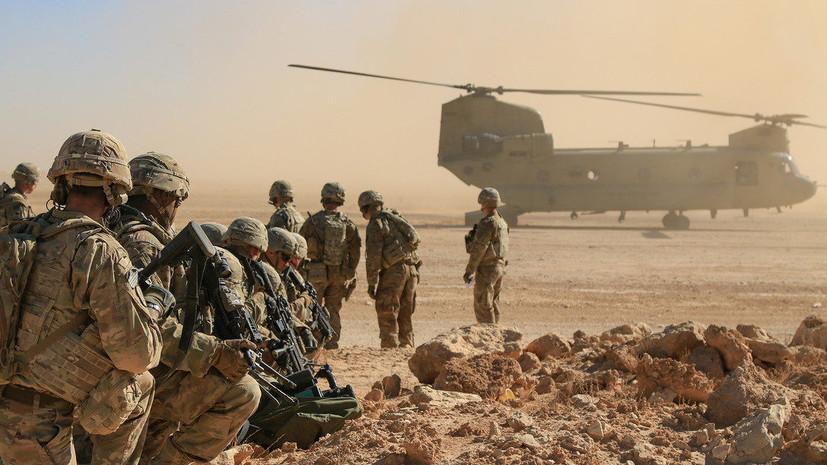 Четыре ракеты взорвались рядом с базой американских военных в Ираке