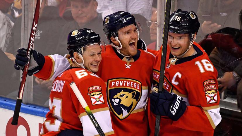 Два ассиста Дадонова помогли «Флориде» обыграть «Монреаль» в НХЛ