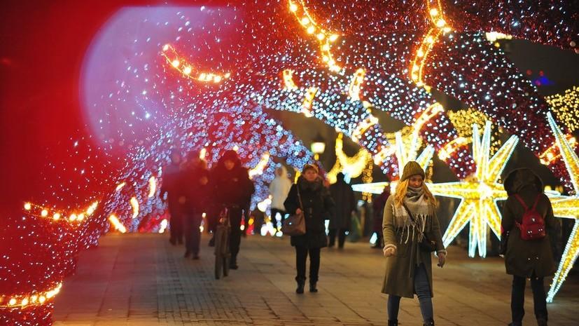Опрос: 62% россиян готовы к Новому году