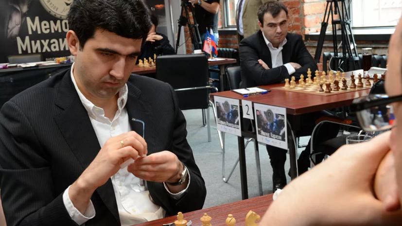 Крамник замыкает тройку лучших после 19 туров на ЧМ по блицу