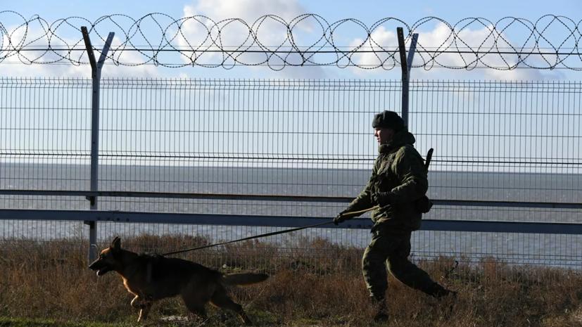 Украинца задержали при попытке тайно попасть в Крым