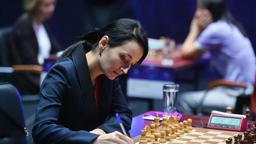 Российская шахматистка Лагно второй год подряд выиграла ЧМ по блицу