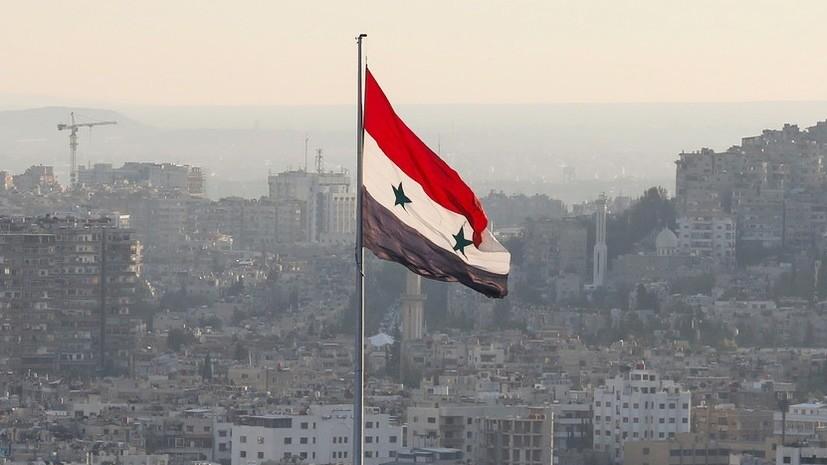 МИД Сирии осудил удары ВВС США по объектам ополчения в Ираке