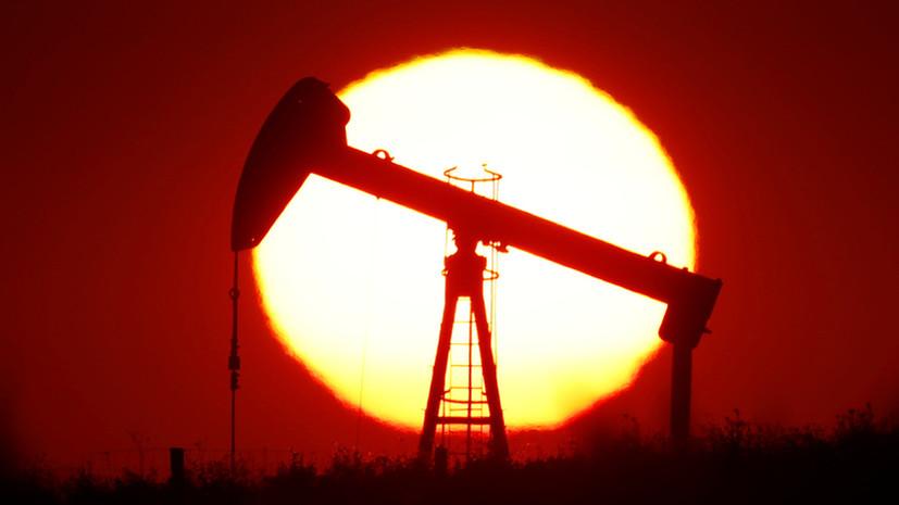 Цена на нефть Brent растёт