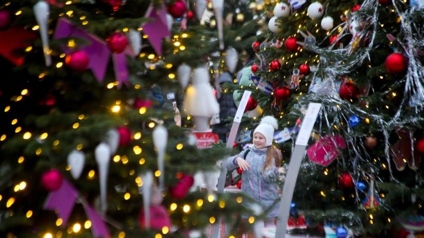 Синоптик заявил о «коротких зарядах снега» в новогоднюю ночь в Москве