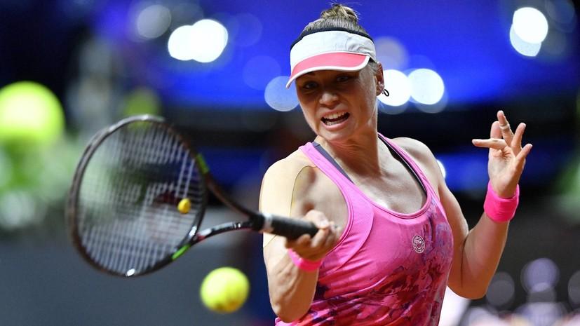 Звонарёва снялась с Australian Open из-за травмы