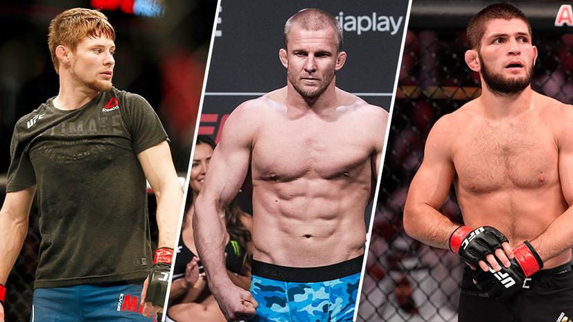 Твистер Митчелла, перуанский галстук Циркунова и удушение сзади Нурмагомедова: лучшие болевые приёмы 2019 года в UFC
