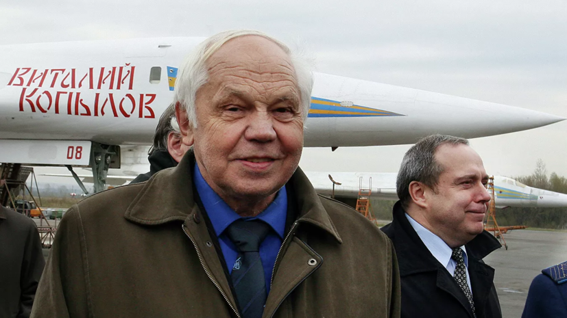 Умер главный конструктор ракетоносца Ту-160 Валентин Близнюк