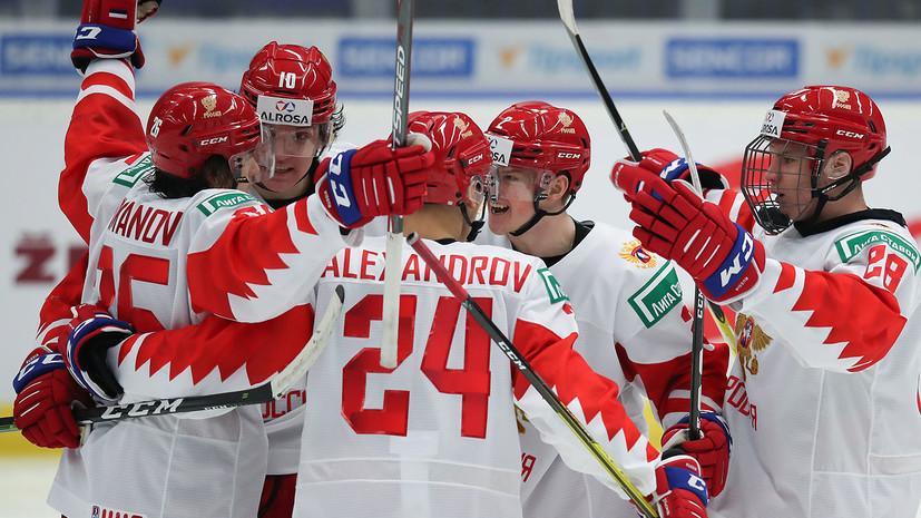 Сборная России по хоккею открыла счёт в матче с Германией на МЧМ