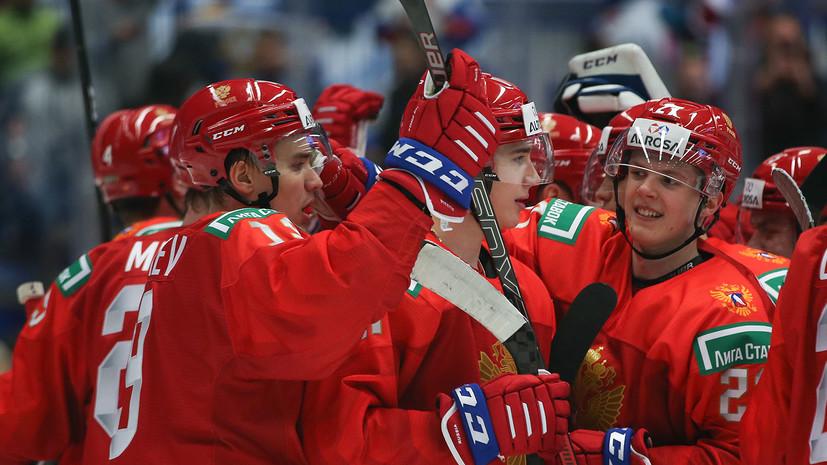 Сборная России по хоккею во второй раз забросила в большинстве на МЧМ в Чехии